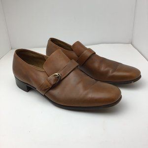 Silver Wing Squire By BALLY Men's Leather Brown 11